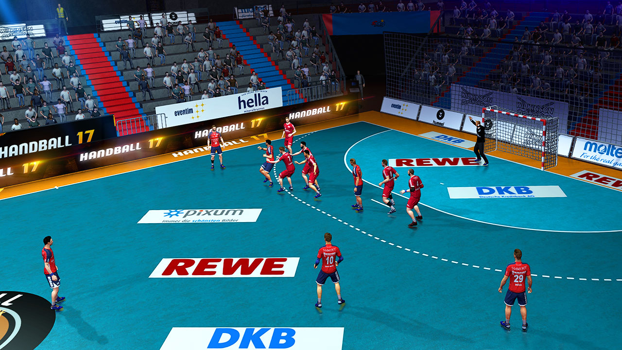 notre test du jeu vid o handball 2017 la simulation handball sur ps4. Black Bedroom Furniture Sets. Home Design Ideas