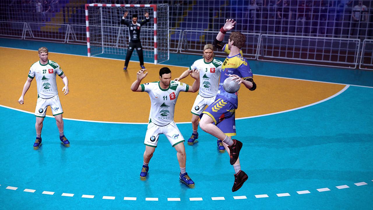 Sreenshot du jeu Handball 2017