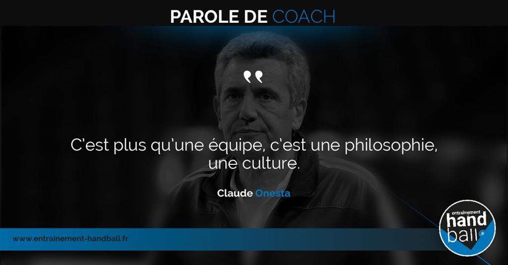 C'est plus qu'une équipe,<br /> c'est une philosophie,<br /> une culture.