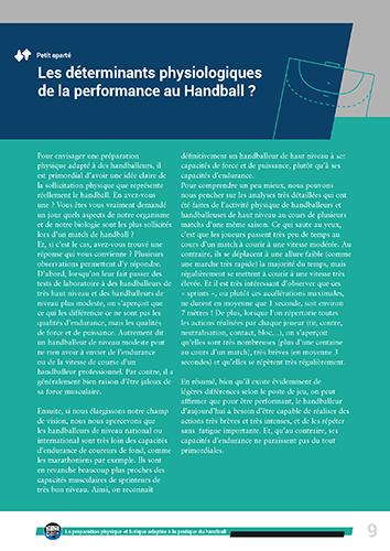 Préparation Physique Handball 7 séances
