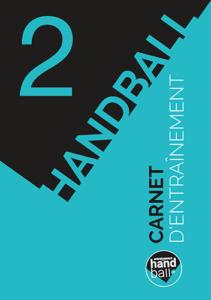 Carnet d'entrainement de Handball N°2