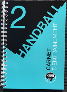 Carnet d'entrainement Handball n°2