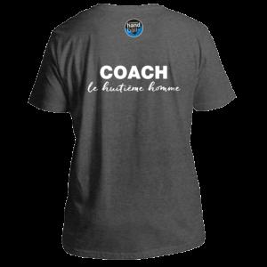 Dos Tee Shirt Coach Gris