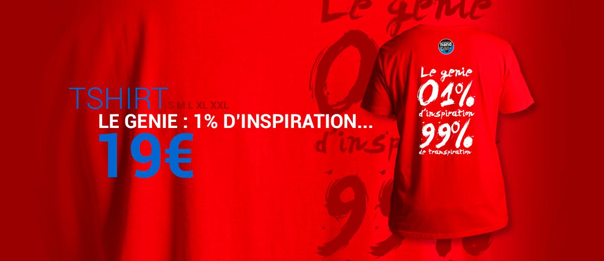T-Shirt Le Genie Rouge