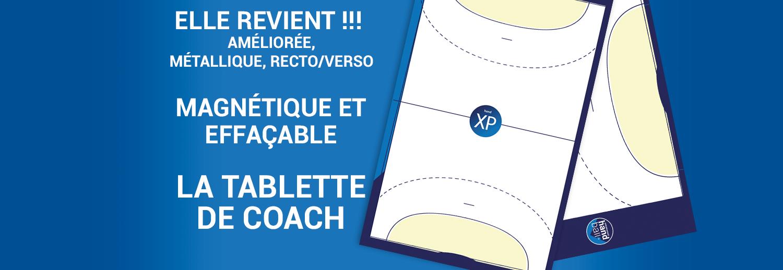 Tablette de Coach