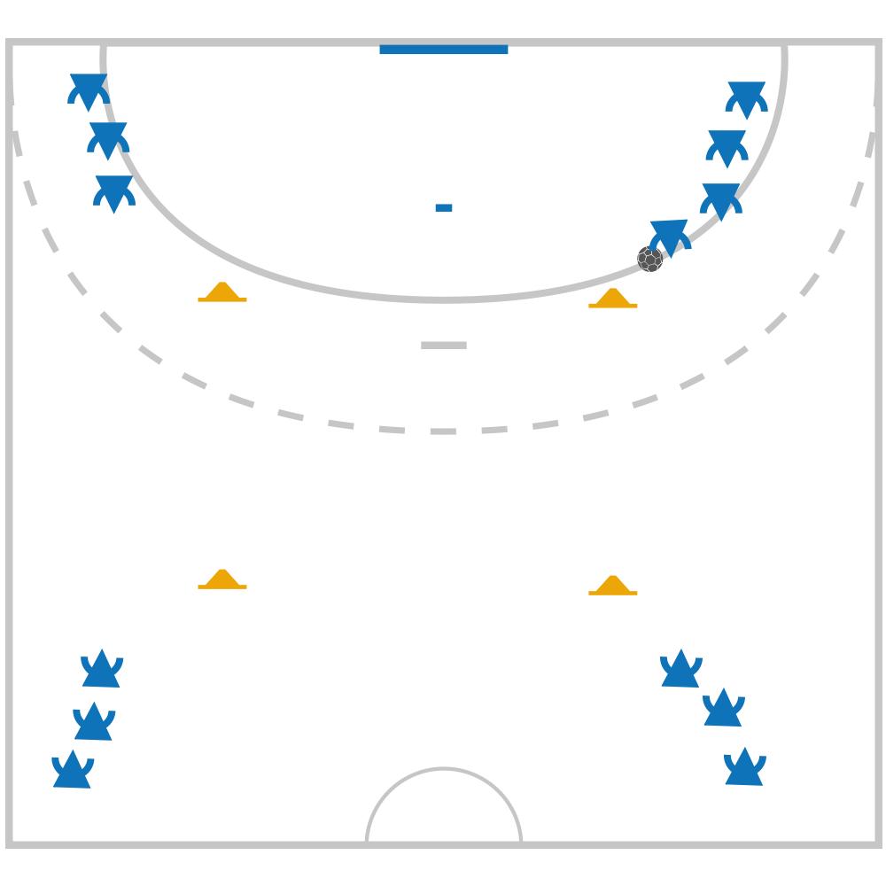 Fiche Exercice de Handball : Fondamentaux La passe dans le ...