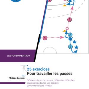 Cahier de 25 exercices de Handball pour travailler la passe