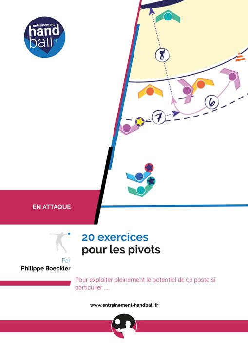 Cahier de 20 exercices de Handball pour le Pivot