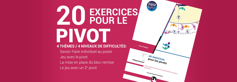 Cahier de 20 exercices pour le Pivot
