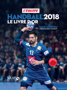 Couverture du livre livre d'or du handball 2018