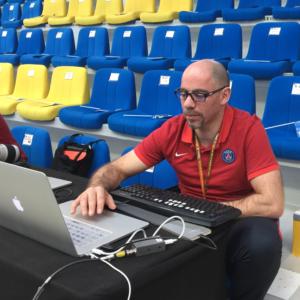 Salim Belmessaoud, analyste vidéo du PSG Handball