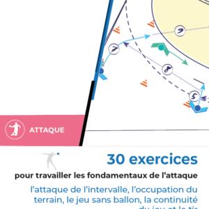 Cahier de 30 exercices pour travailler l'attaque