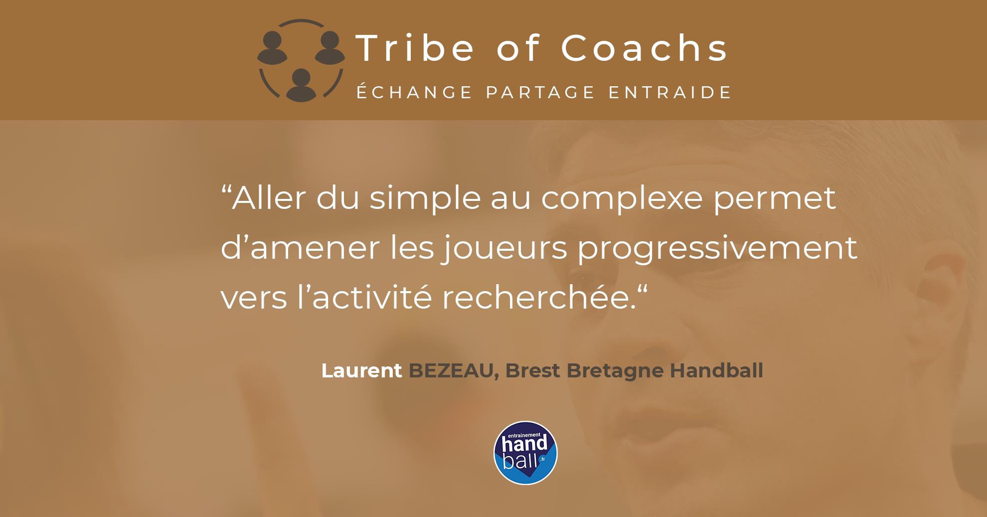 3 Questions à Laurent Bezeau, entraineur du Brest Bretagne Handball