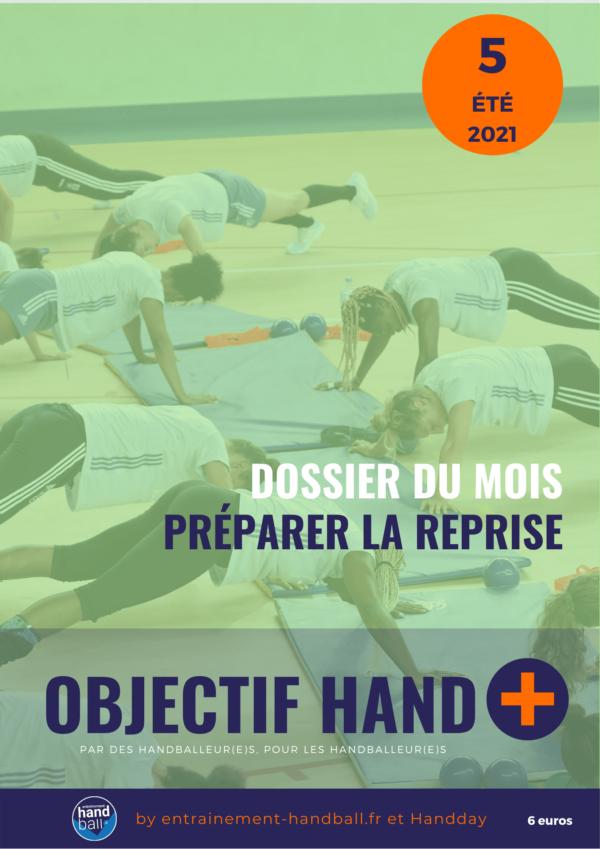 Couverture Webzine Objectif Hand 05 été 2021